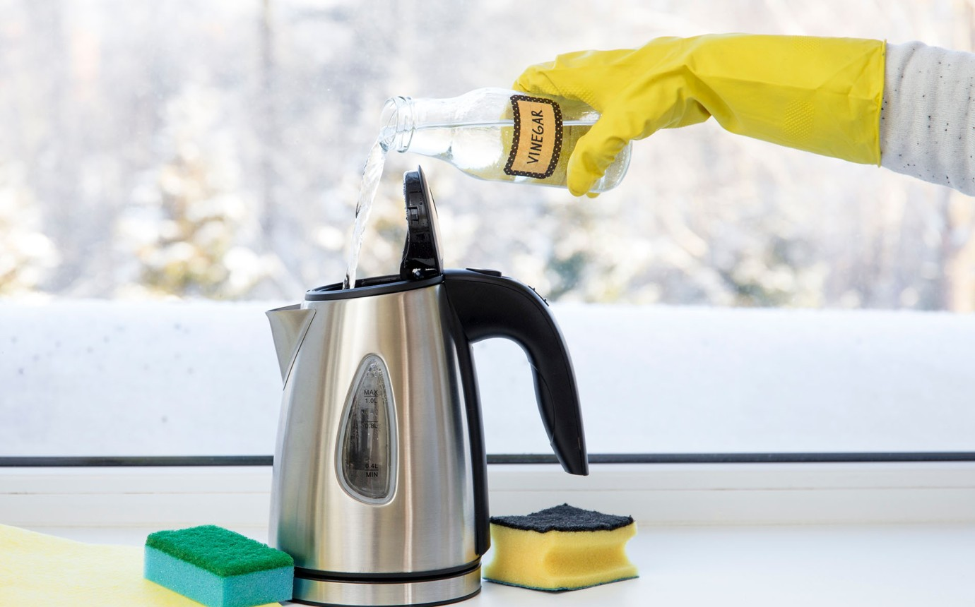 Gut gemocht Wasserkocher entkalken - Mit diesen Methoden kannst du Ihn reinigen WF68